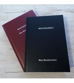 Hardcover - Leinenstruktur DIN A4