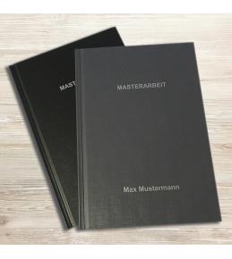 Hardcover - Leinenstruktur DIN A5