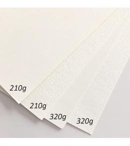 auf 210g Aquarell-Papier, matt & cremeweiß, glatte Oberfläche